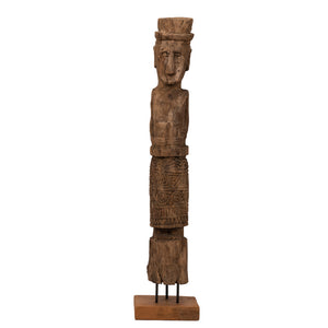 Ancestor Carved Wood Statue of Timor