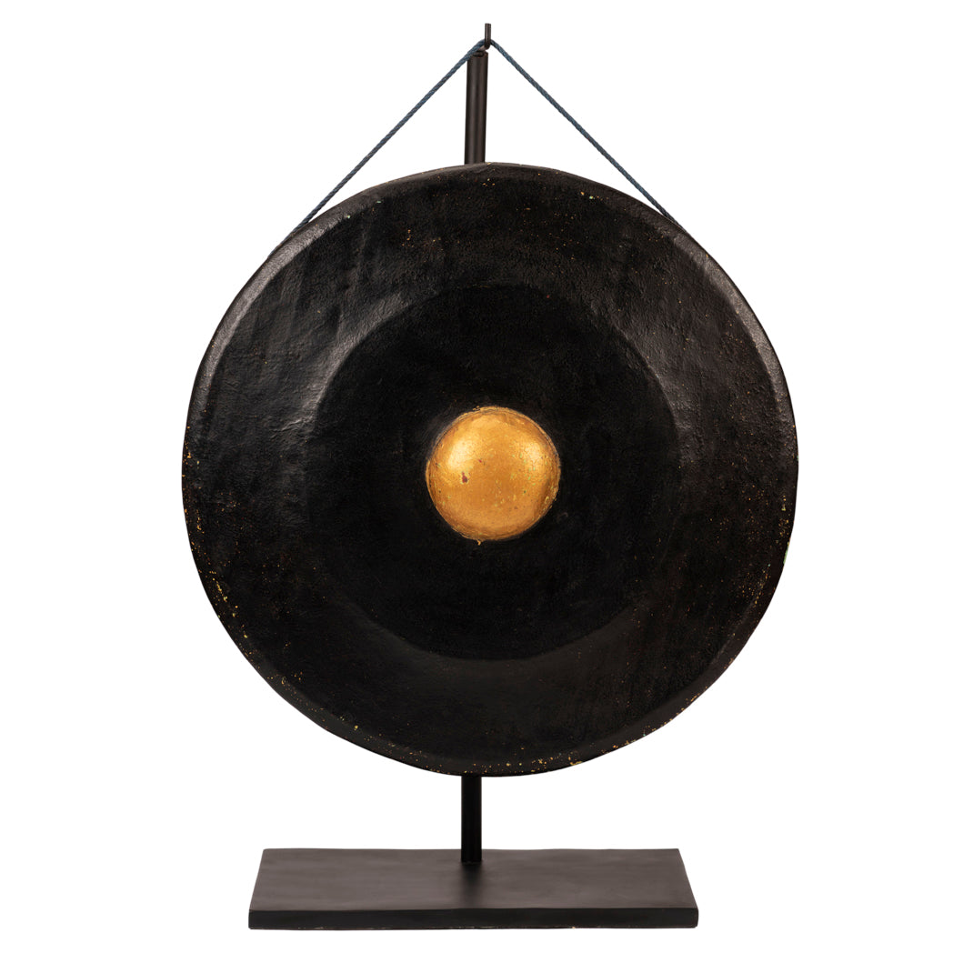 Javanese Traditional Black & Gold Gong