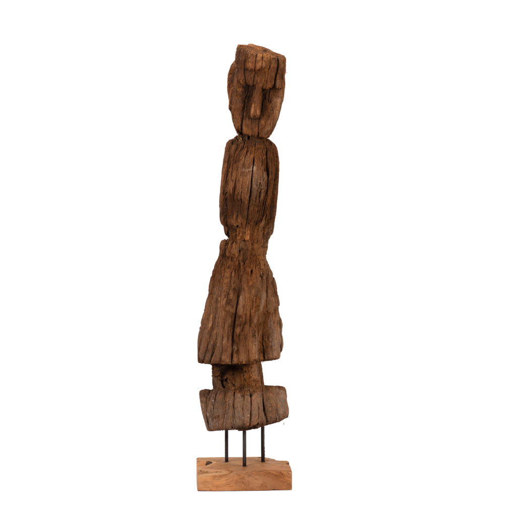 Wood Carving of Timor Ancestral Statue