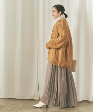 Load image into Gallery viewer, Cable Design Knit / Cardigan (auxn0310)