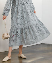 Load image into Gallery viewer, Front and back 2way cotton lace dress (auxn0361)