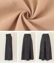 Load image into Gallery viewer, Faux Wool Wrap Pants (auxp2313)