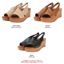 Load image into Gallery viewer, Asymmetric design wedge sole sandals (avjn0152)