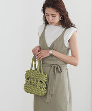 Load image into Gallery viewer, Rope Color Tote Bag (avjr0035)