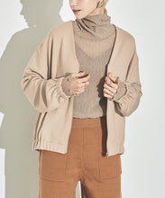 Load image into Gallery viewer, Cardboard Knit No Color Blouson (awjn0355)