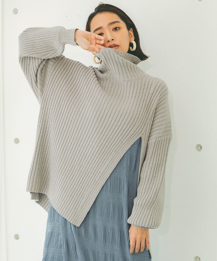 Slit design knit (awxn0797)