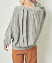 Load image into Gallery viewer, Wool Blend Tuck Design Knit (awxn0836)