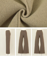 Load image into Gallery viewer, Center Pin Tuck Knit Pants (awxn0886)