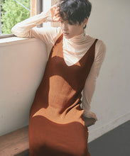 Load image into Gallery viewer, Long Knit Camisole Dress  (awxp2672)