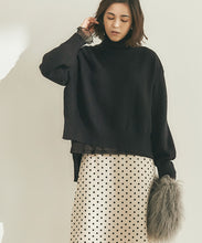 Load image into Gallery viewer, Side Slit Turtleneck Knit (awxp2718)