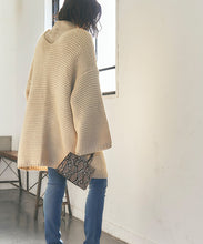 Load image into Gallery viewer, Oversized Low Gauge Knit Cardigan (awxp2745)