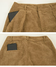 Load image into Gallery viewer, Corduroy Center Pre-Stack Wide Pants (awxp2760)