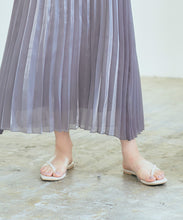 Load image into Gallery viewer, Shiny Pleated Skirt (axjr9818)