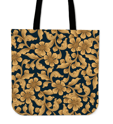 Classic Floral Tote Bag - Joy's Beauty Store