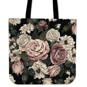 Floral Ornamental Tote Bag - Joy's Beauty Store