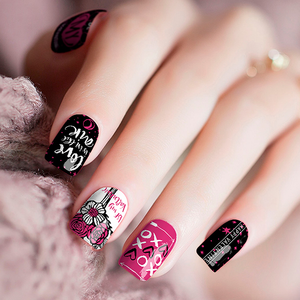 Valentine Love Nail Wraps - Joy's Beauty Store