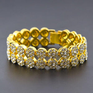 BUD 2 Row Flower 970831 Bracelet - Joy's Beauty Store