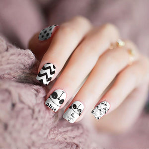 Panda's Day Nail Wraps - Joy's Beauty Store