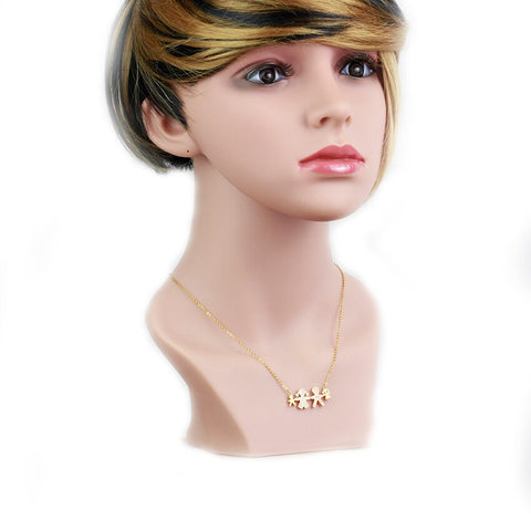 Bling Micro Pave AAA Cubic Zirconia Boy Girl - Joy's Beauty Store