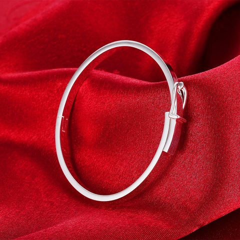 Soons Bangle in 18K White Gold Plated - Joy's Beauty Store