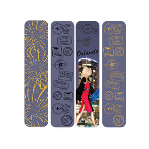 OH Fashion Mini Nail Files Glorious Orlando - Joy's Beauty Store