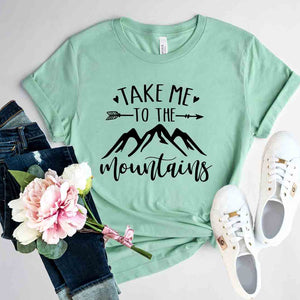 Take Me To The Mountains Shirt - Joy's Beauty Store