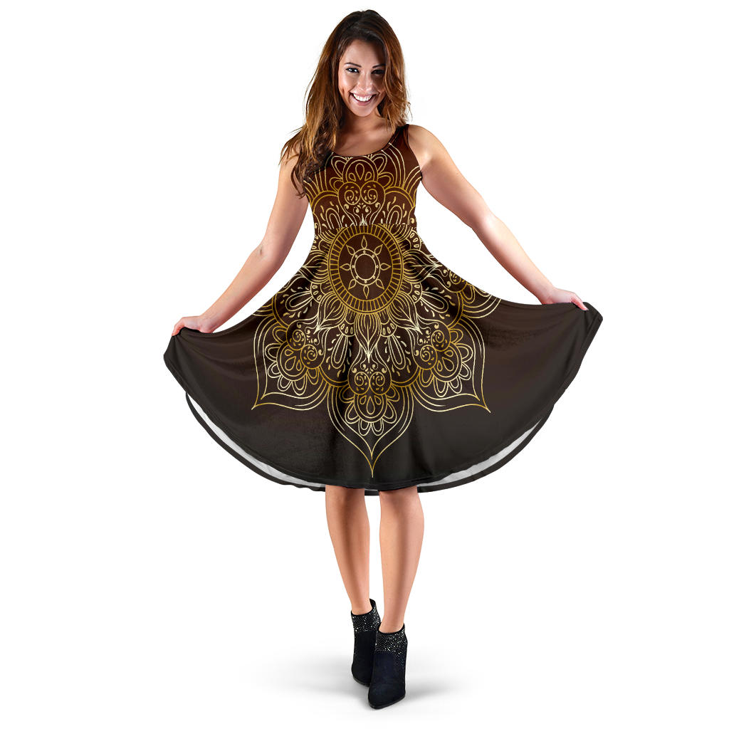 Women's Luxury Mandala Dress - Joy's Beauty Store