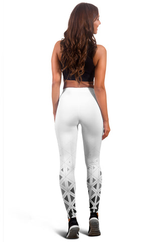 Women's Triangle Patterned Leggings - Joy's Beauty Store
