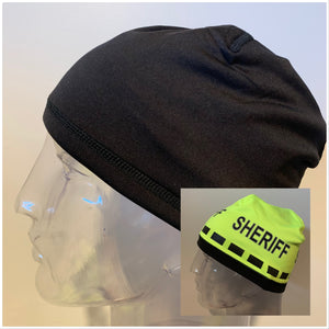 Police Beanie- Reversible SHERIFF