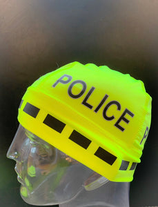 "The Police Beanie- Neon ""POLICE"""
