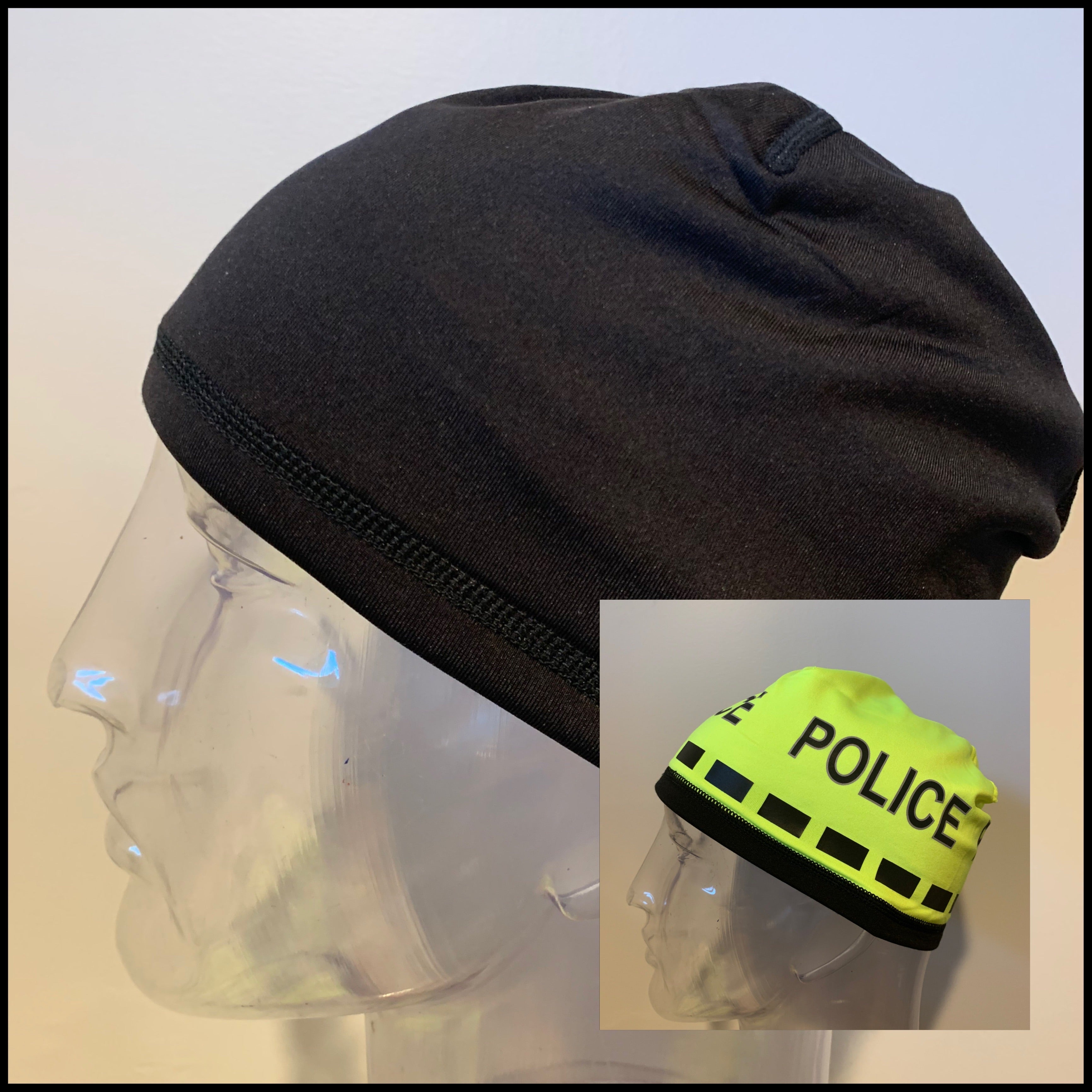 Police Beanie- Reversible POLICE
