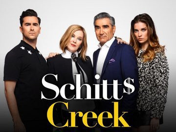 Up Schitt's Creek with a Designer Label