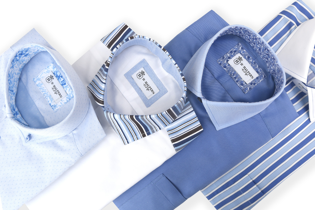 In addition to our dramatically different men's dress shirts—designed & made in Toronto exclusively for H. HALPERN ESQ—explore our wide selection of designer men's sport shirts, high-quality men's t-shirts & sweaters.