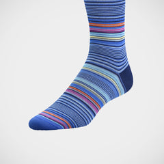 'Stripes on Blue' sock