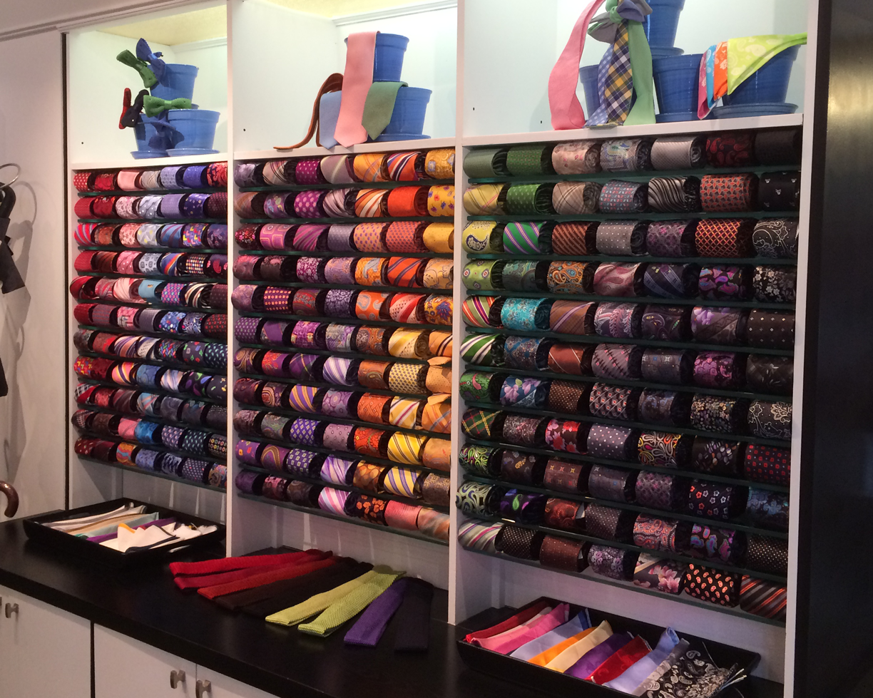 "Our ""Great Wall of Ties""…"