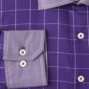 H. Halpern Esq. 'Mulberry' Shirt cuff