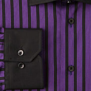 H. Halpern Esq. 'Sugar Plum' Dress Shirt cuff