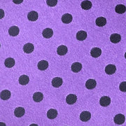 H. Halpern Esq. 'Satin Dot - Purple' Pocket Circle