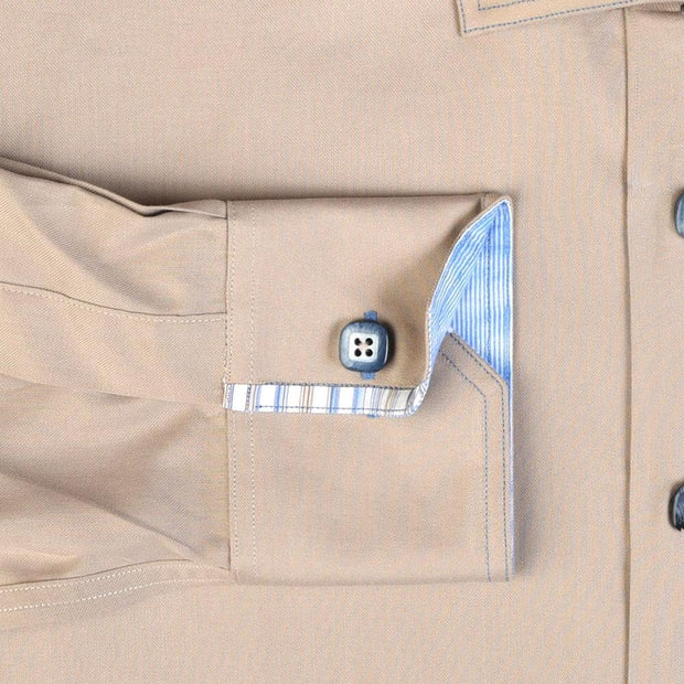 H. Halpern Esq. 'Desert Storm' Dress Shirt