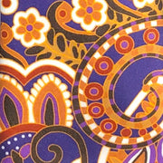 H. Halpern Esq. 'Crazy Paisley in Purple' Tie