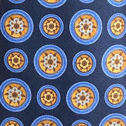 H. Halpern Esq. 'Medallion on Blue' Tie