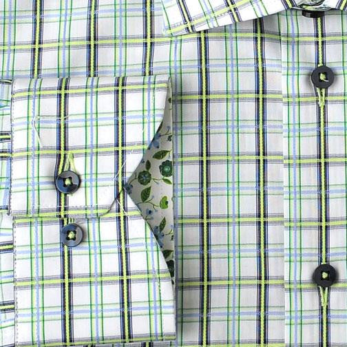 H. Halpern Esq. 'Iguana' Dress Shirt cuff