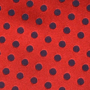 H. Halpern Esq. 'Satin Dot - Red' Pocket Circle