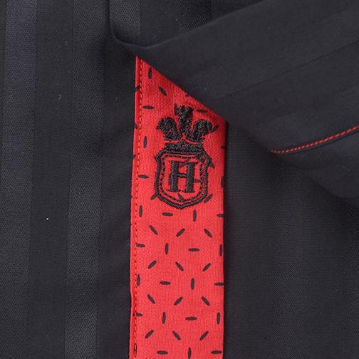 H. Halpern Esq. 'Elite Onyx' Dress Shirt logo
