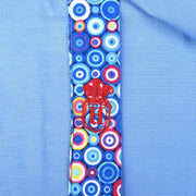 H. Halpern Esq. 'Bubbles on Blue' Dress Shirt