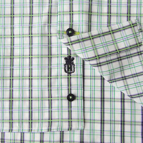 H. Halpern Esq. 'Iguana' Dress Shirt logo