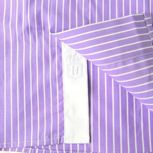 H. Halpern Esq. 'Purple Martin' Dress Shirt logo