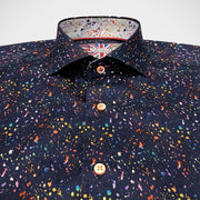 'Paint Splatter' Short Sleeved Sport Shirt