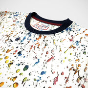 'Paint Splatter Crew Neck' T-Shirt