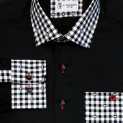 'Black as Knight' Sport Shirt